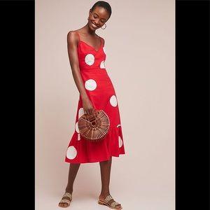 Anthropologie Tracy Reese Breiz Polka Dot Dress